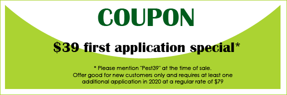 $39 first application special Coupon